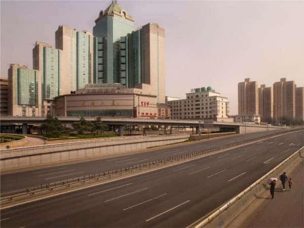 Silent World - Lucie and Simon - Beijing ring roads