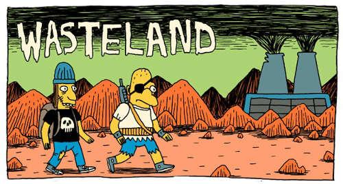 Wasteland - Post Apocalyptic Webcomic Simpsons by Jack Teagle
